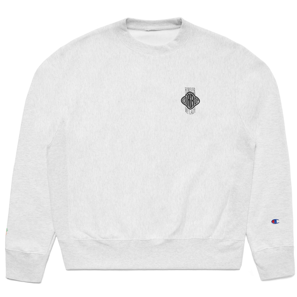 FML CREWNECK - HEATHER GREY