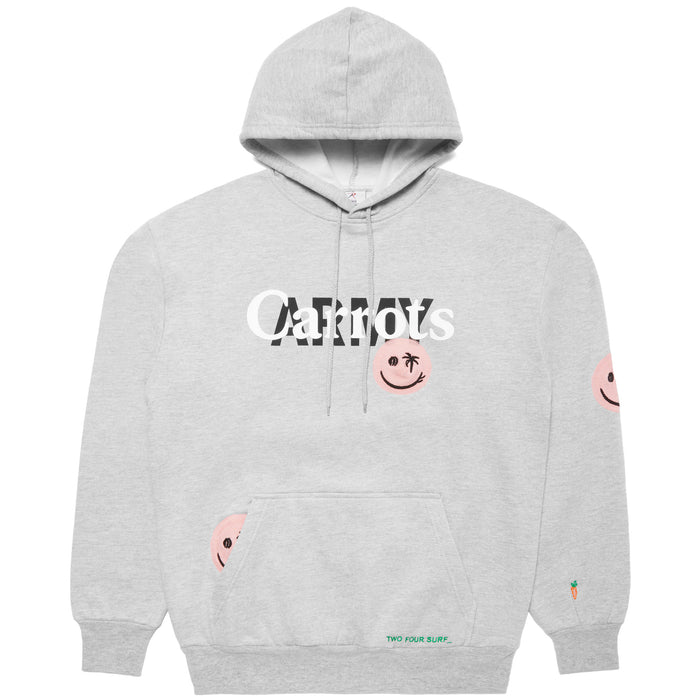 CARROTS ARMY HOODIE - HEATHER