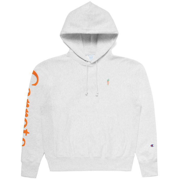 COKANE RABBIT HOODIE - HEATHER GREY