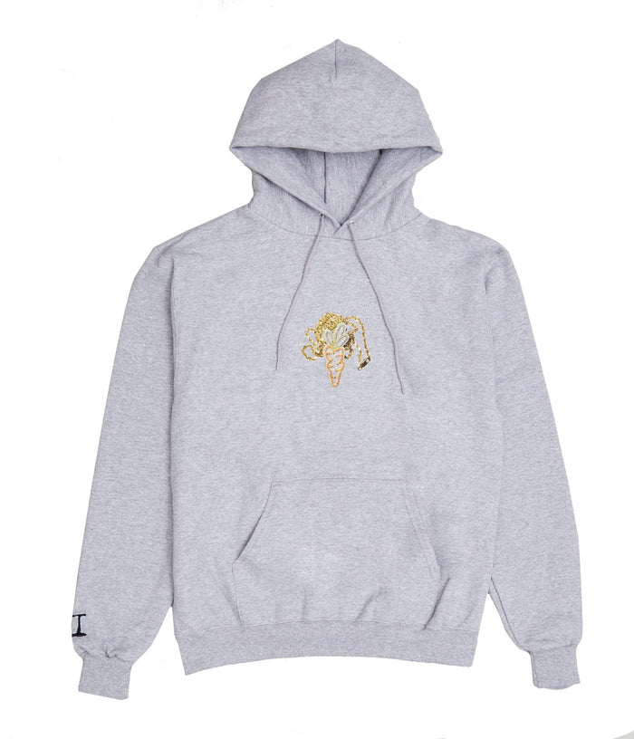 Carrots for Greg Yuna Hoodie - Heather Grey