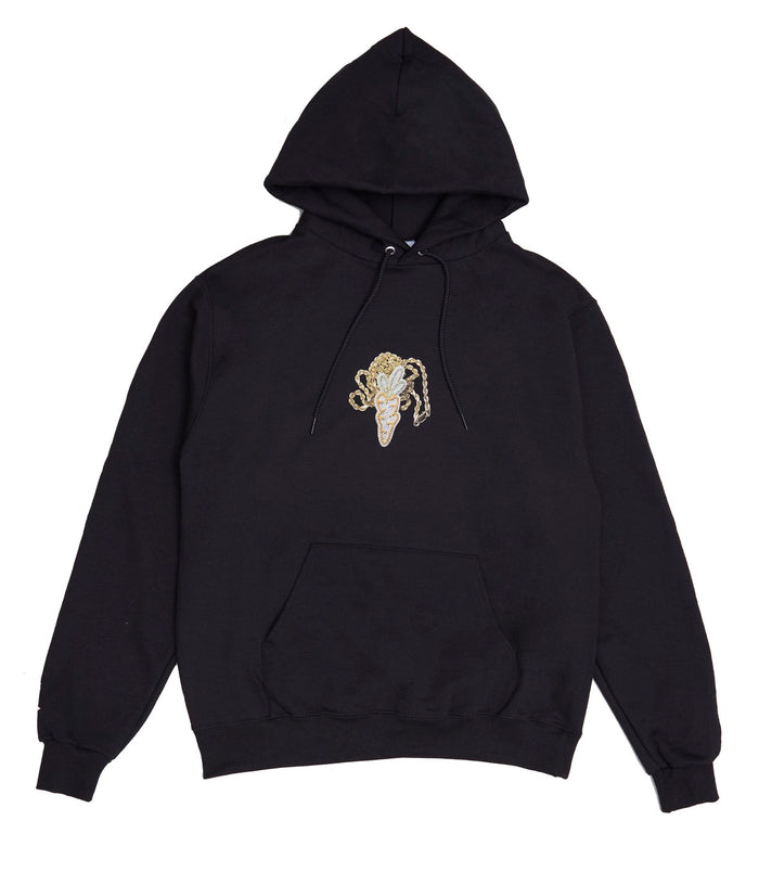 Carrots for Greg Yuna Hoodie - Black
