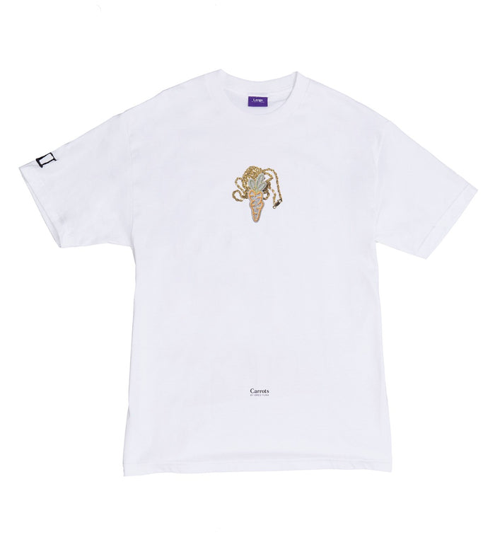 Carrots for Greg Yuna Tee - White
