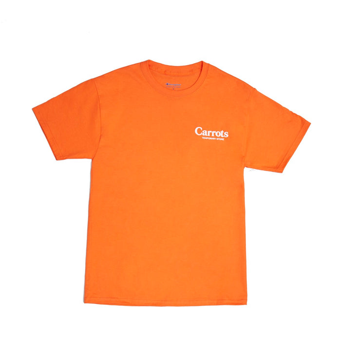 Carrots Temporary Store Tee- Orange