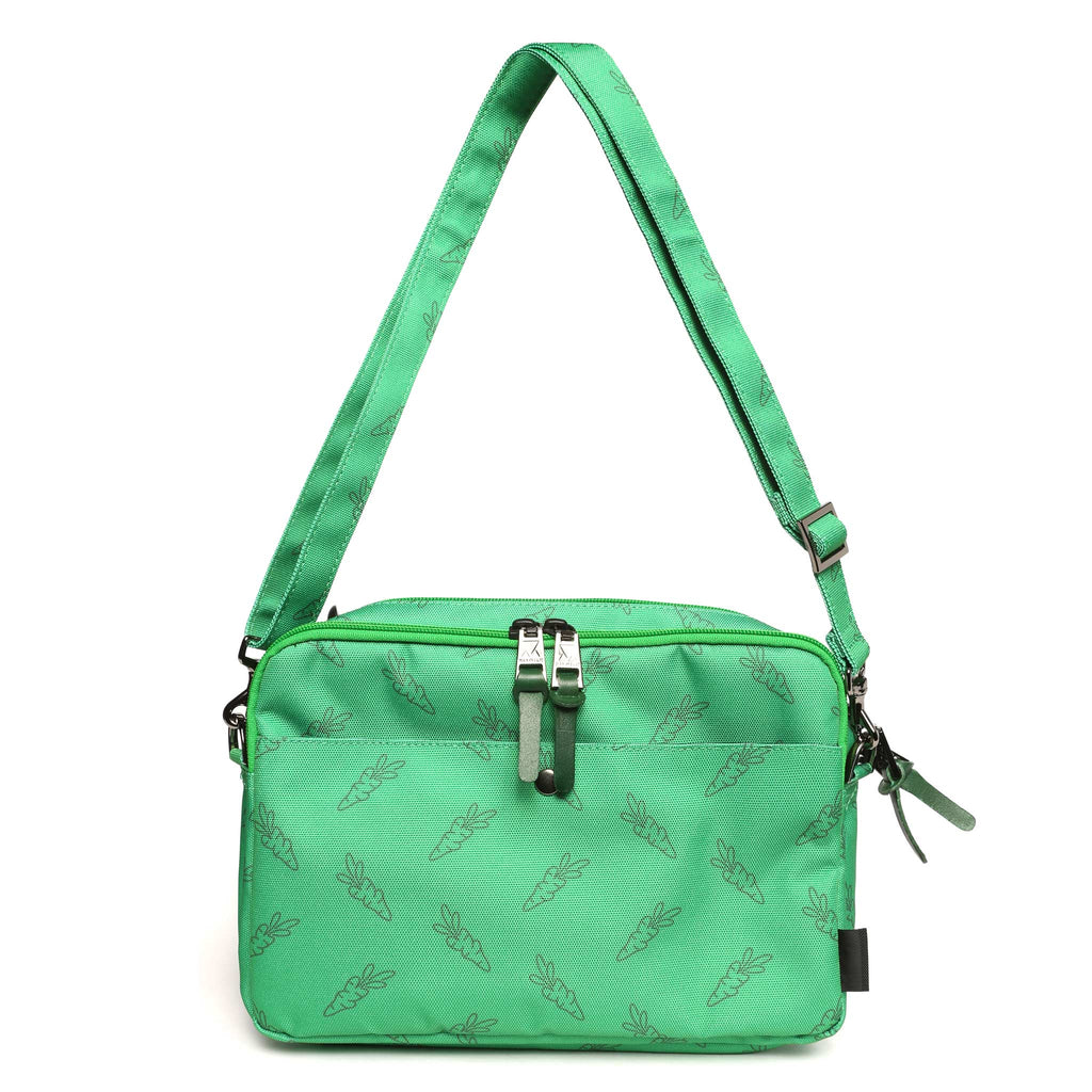 Carrots for Makavelic Bilayer pouch - Green