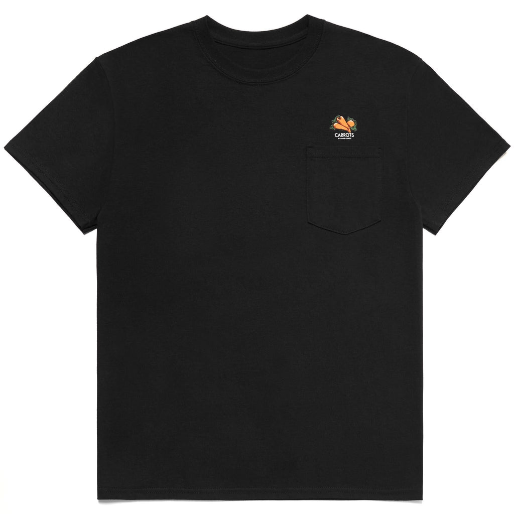 LOOM POCKET TEE - BLACK