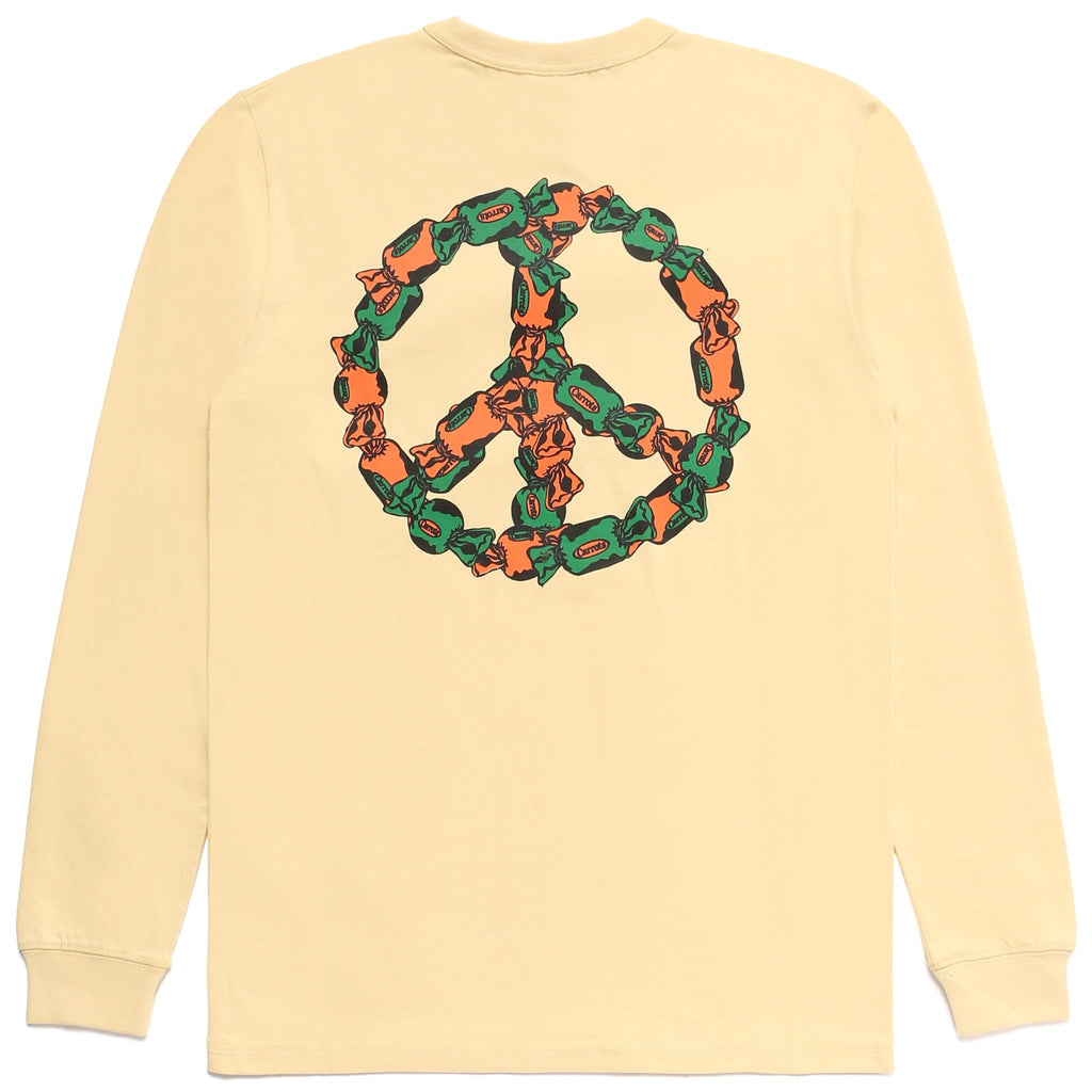 PEACE OF CANDY longsleeve - IVORY