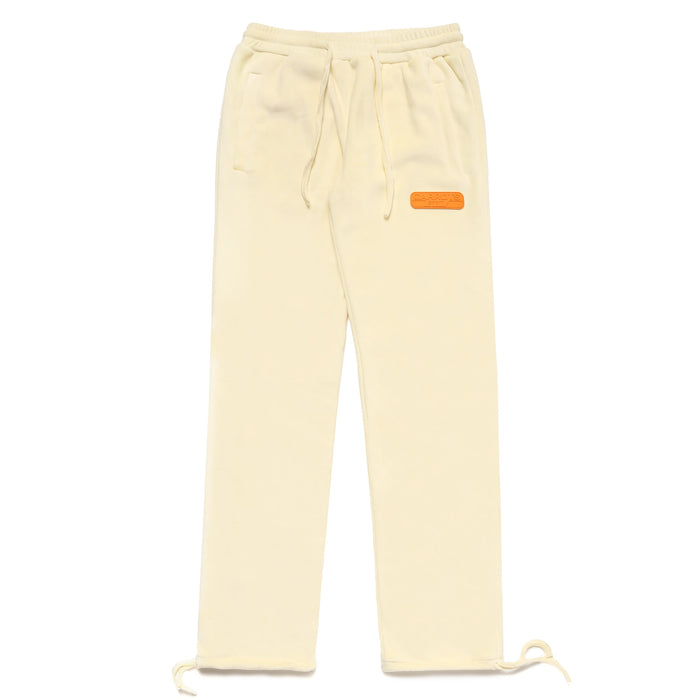CARROT SPORT VELOUR SWEATPANT - IVORY