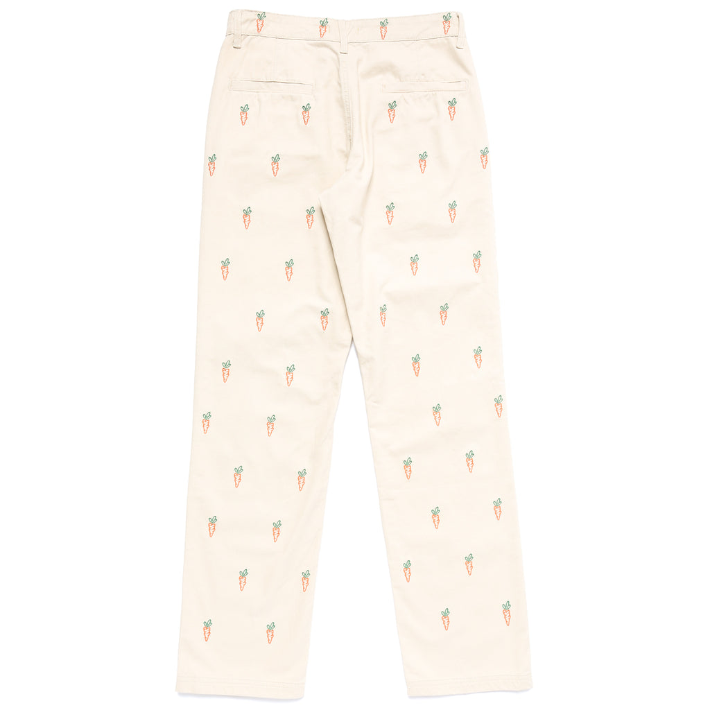 ALL OVER CARROTS CHINO PANTS - KHAKI