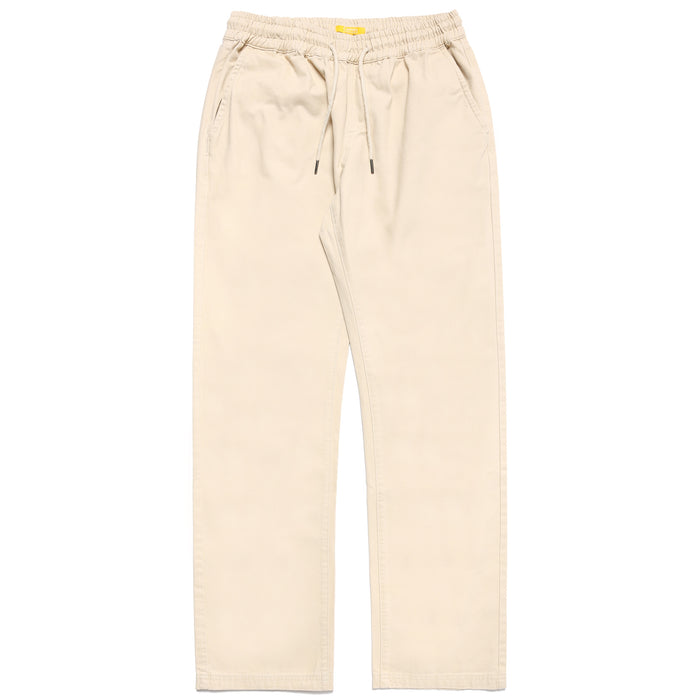 GROOVY WORDMARK CHINO PANTS - KHAKI