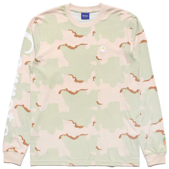 DAISY LONG SLEEVE - CAMO