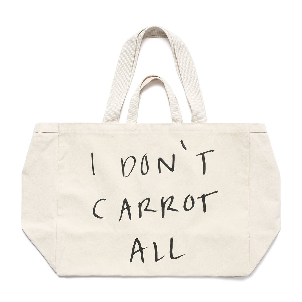CARROTS X DEER DANA BUNDLE TOTE BAG - NATURAL