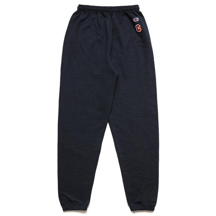"CHAMPION UNIVERSITY BLOCK ""C"" SWEATPANTS - NAVY"