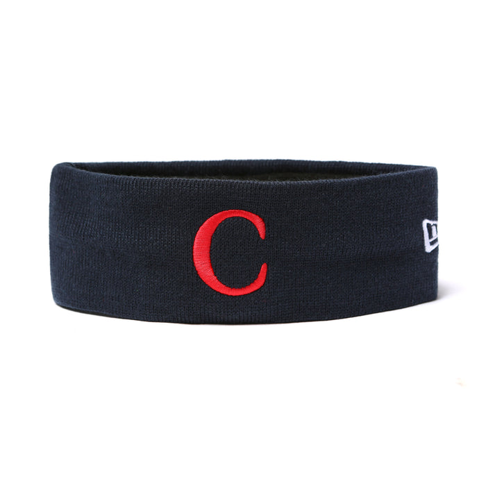 C LOGO HEADBAND - NAVY