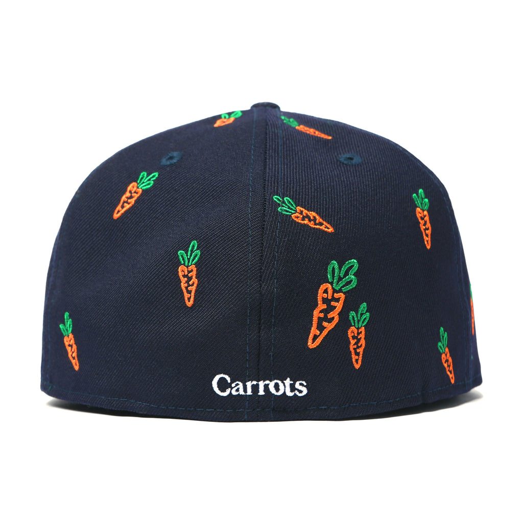 CARROTS ALL OVER NEW ERA HAT - NAVY