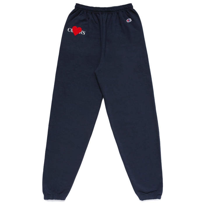 MULLEAVY LOVE SWEATPANTS - NAVY