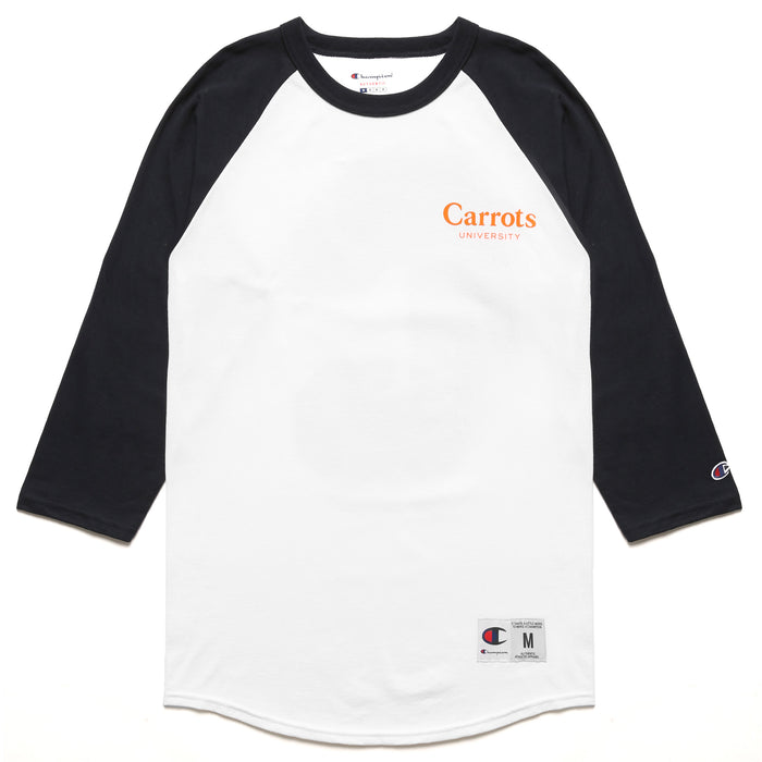"CARROTS UNIVERSITY BIG ""C"" RAGLAN - NAVY"