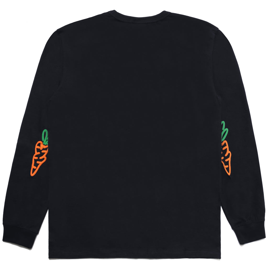 SIGNATURE CARROTS LONG SLEEVE TEE - NAVY
