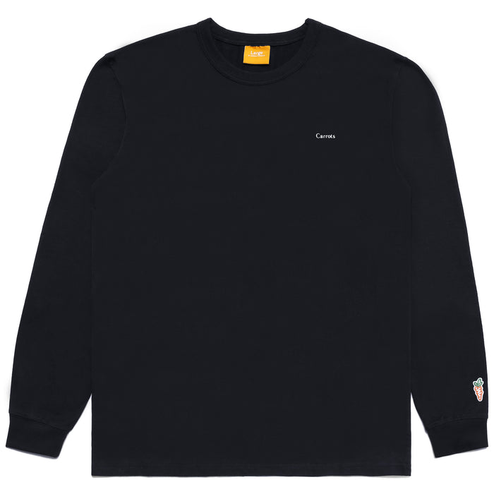 CARROTS WORDMARK LONG SLEEVE TEE - NAVY