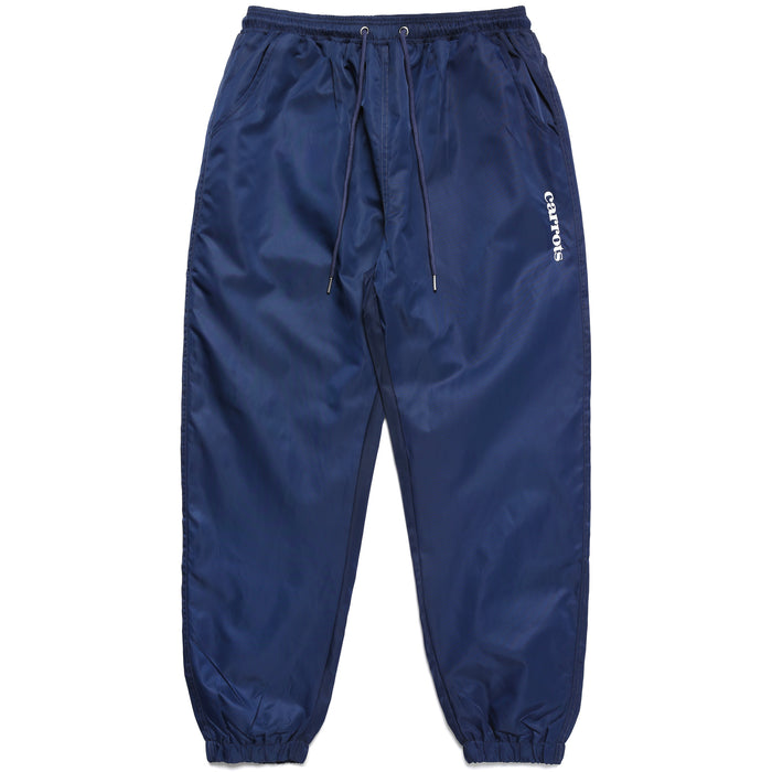 SERVADIO WORDMARK TRACK PANTS - NAVY