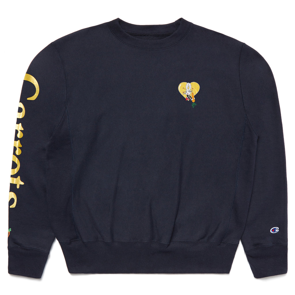 LOVE CREWNECK - NAVY