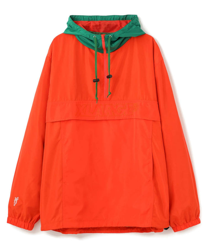 XCARROTS 3 ANORAK JACKET - ORANGE