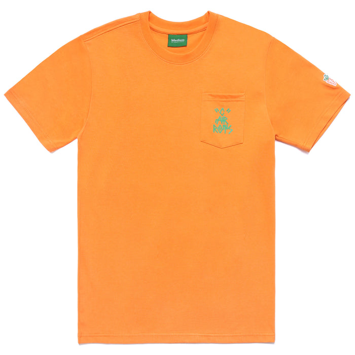 JOAO C POCKET TEE - ORANGE