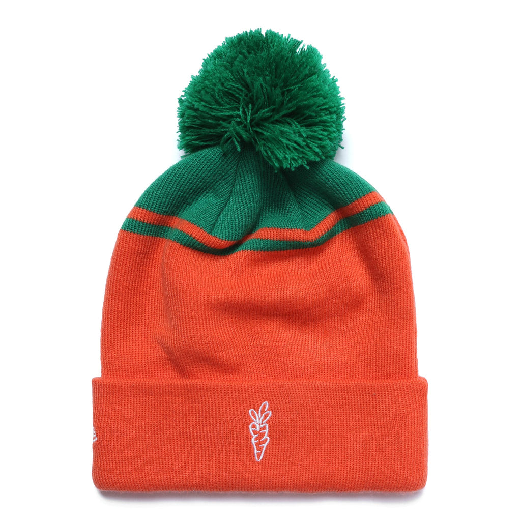 C LOGO BEANIE - ORANGE