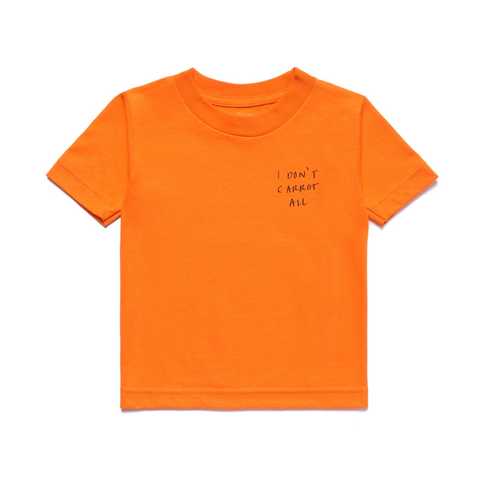 CARROTS X DEER DANA I DON'T CARROT ALL KID'S TEE - ORANGE