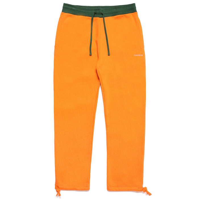 CARROT SHIELD SWEATPANTS - ORANGE