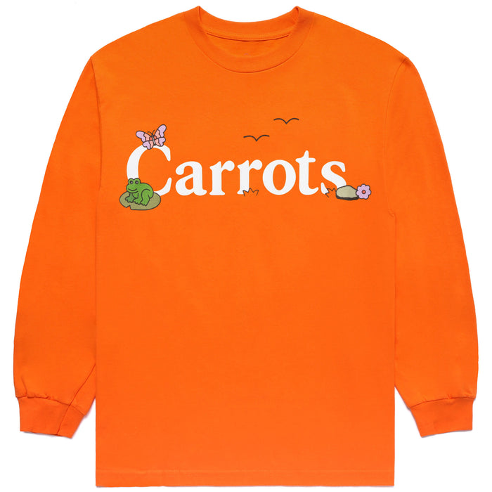 COKANE RABBIT LS SHIRT - ORANGE