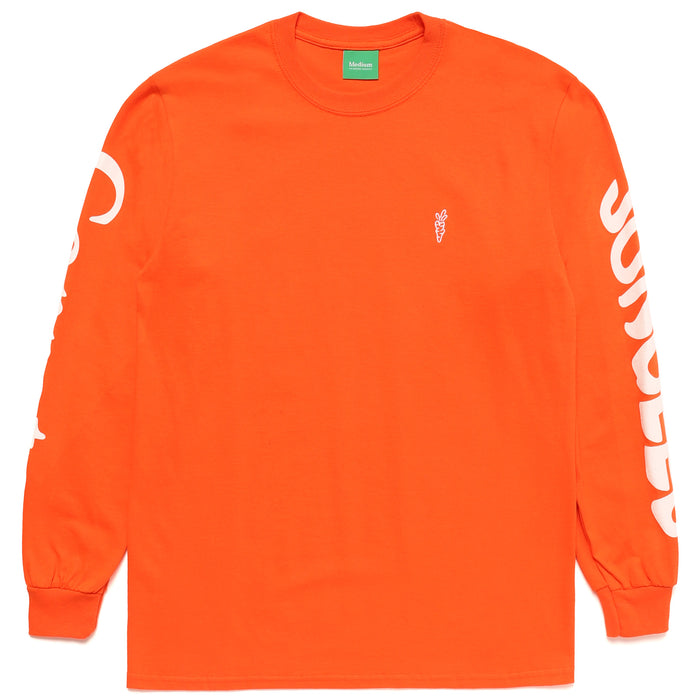 LOGO LONG SLEEVE - ORANGE