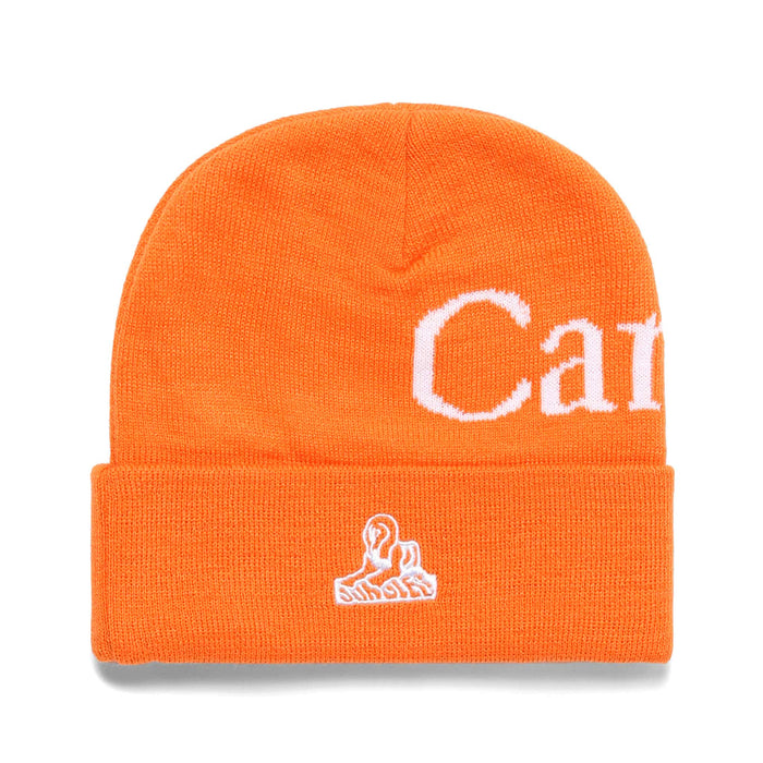 LOGO BEANIE - ORANGE