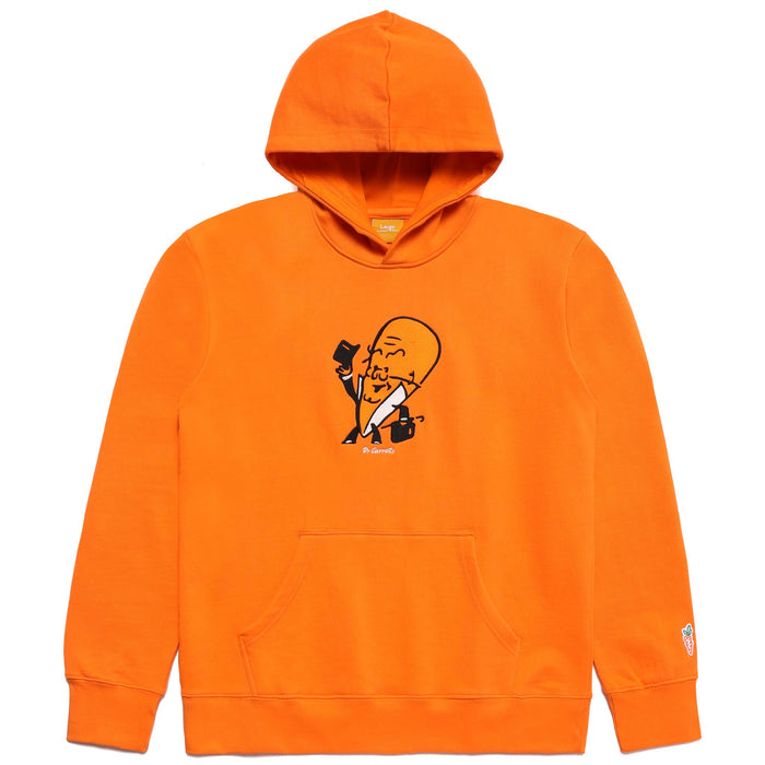 DOCTOR CARROTS HOODIE - ORANGE