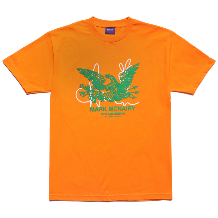 MCNAIRY LOGO T-SHIRT - ORANGE