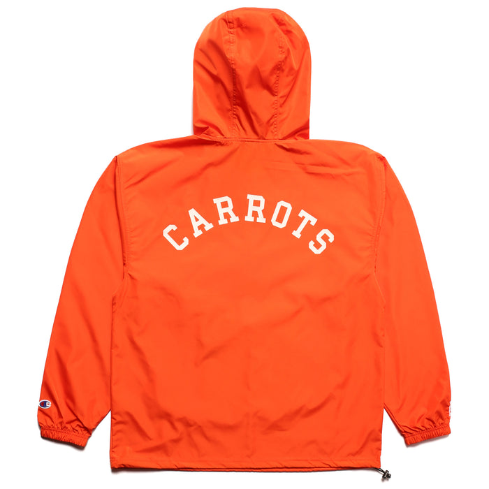 CARROTS UNIVERSITY ANORAK JACKET - ORANGE