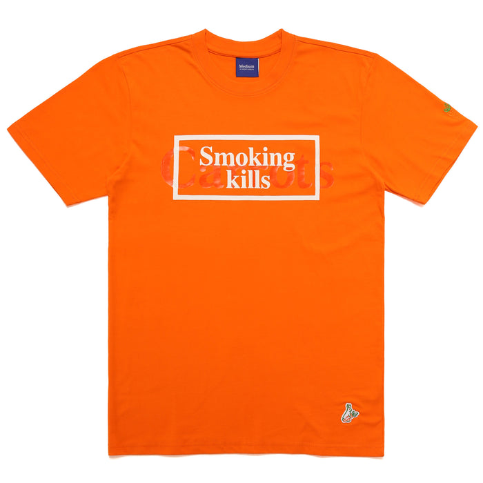 FXXKING CARROTS WORDMARK T-SHIRT - ORANGE