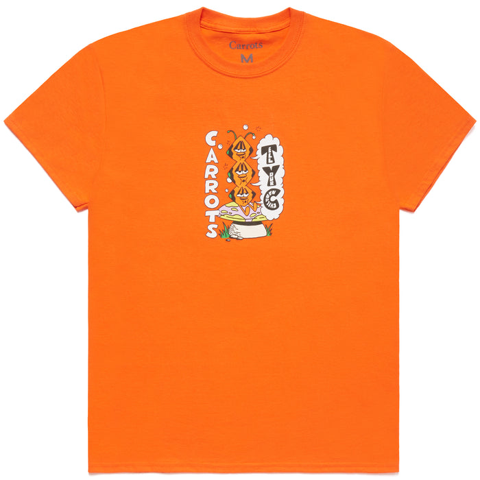 TRIPPY PILLAR TEE - ORANGE