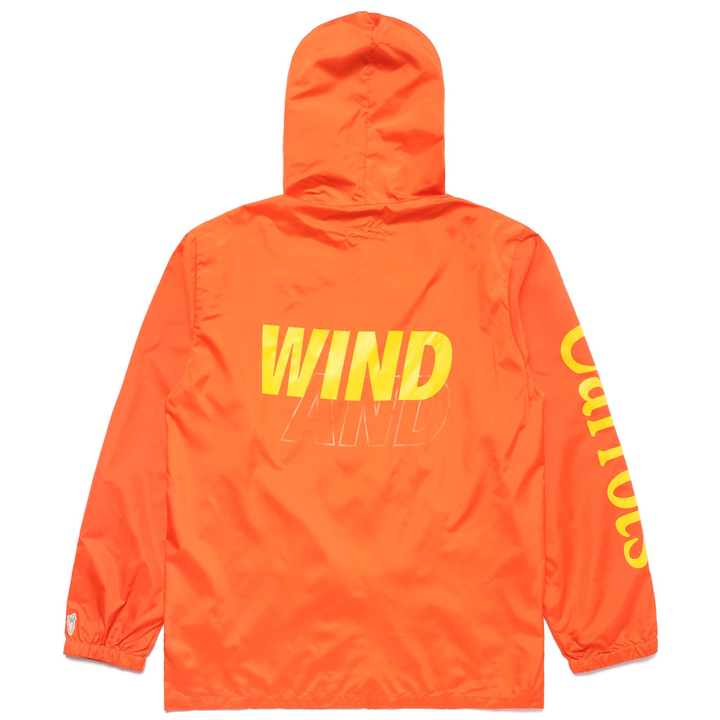 CARROTS X WIND & SEA Nylon Jacket - ORANGE
