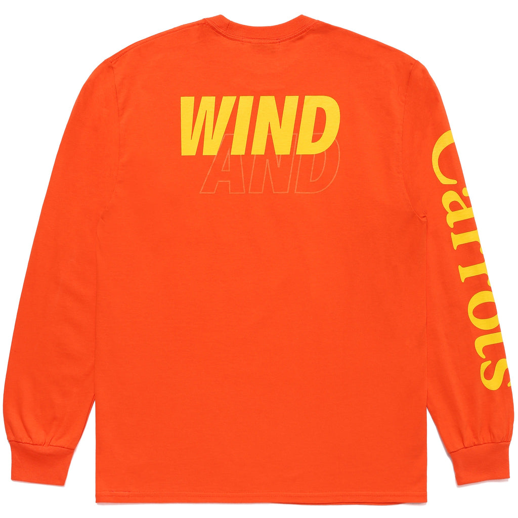 CARROTS X WIND & SEA Nylon LONGSLEEVE - ORANGE