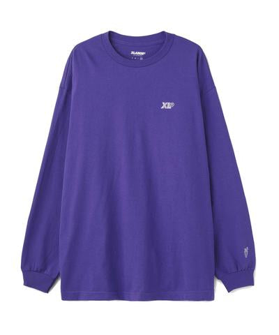 XCARROTS 3 WORDMARK LONGSLEEVE - PURPLE