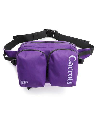 XCARROTS 3 HIP BAG - PURPLE