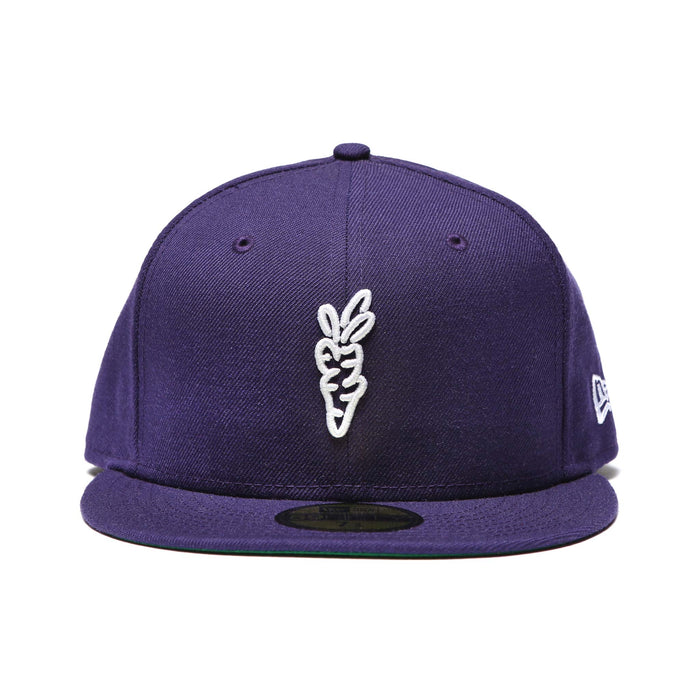"CARROTS ""SIGNATURE Carrot"" NEW ERA 59/50 FITTED - PURPLE"