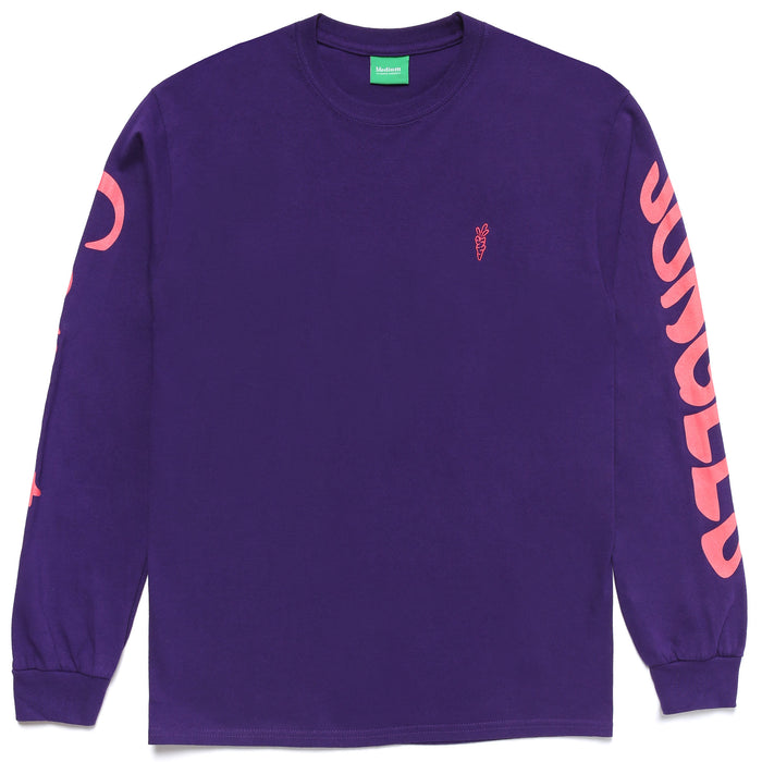 LOGO LONG SLEEVE - PURPLE