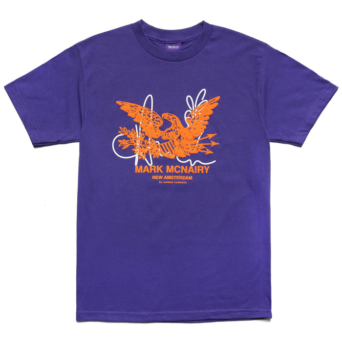 MCNAIRY LOGO T-SHIRT - PURPLE
