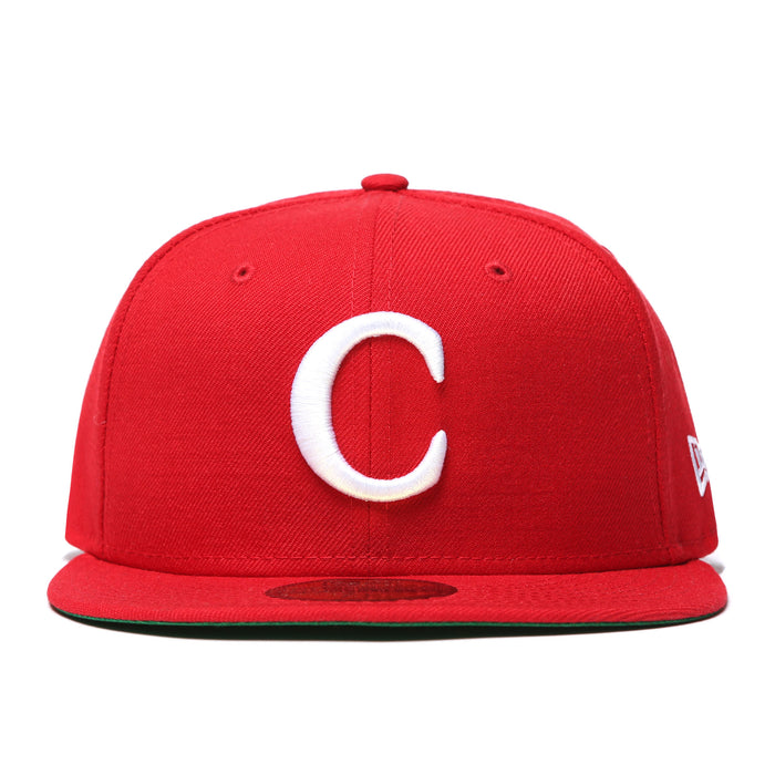 "CARROTS ""C"" NEW ERA 59/50 Fitted - RED"