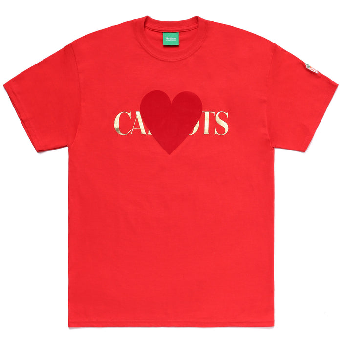 MULLEAVY LOVE TEE - RED
