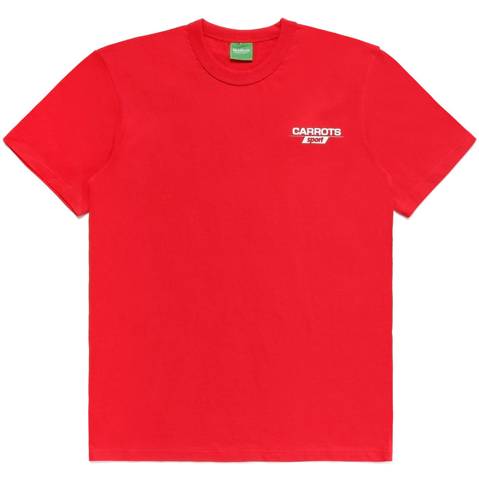 CARROTS SPORT tee - RED