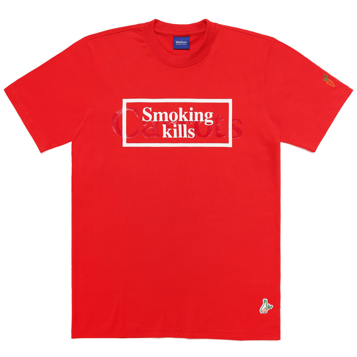FXXKING CARROTS WORDMARK T-SHIRT - RED