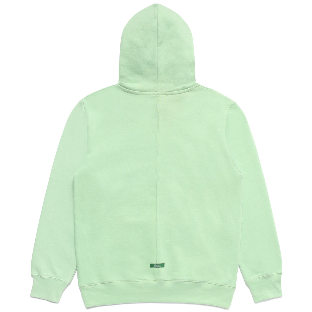 SIGNATURE CARROT PATCH HOODIE - SAGE GREEN