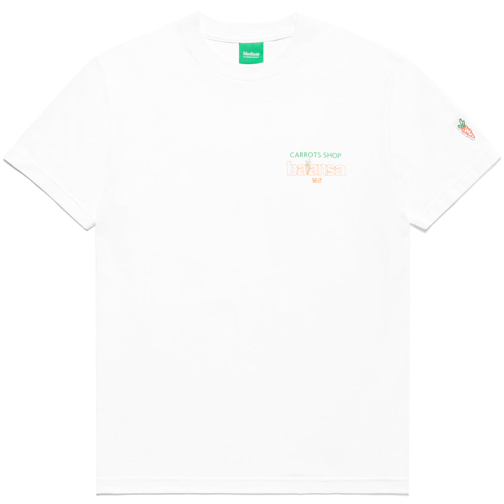 CARROTS x BALANSA SHOP TEE - WHITE